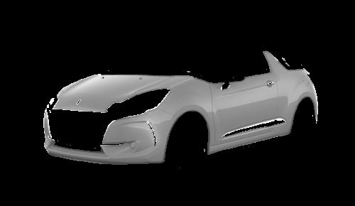 Цвета кузова DS3 Cabrio